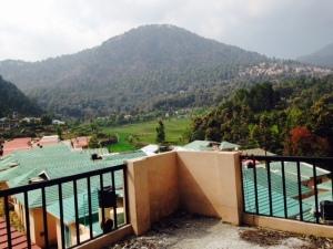 View of Bhimtal from Raksha Retreat, Bhimtal
