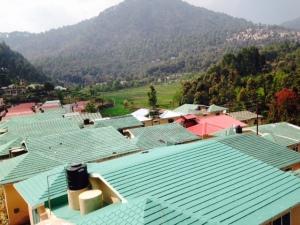 View of Bhimtal from Rakhsa Retreat